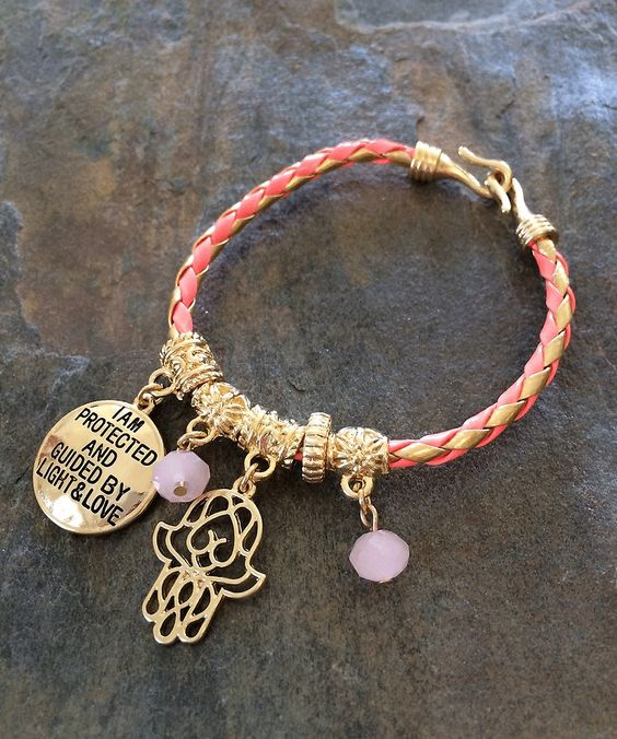Coral Love and Light Bracelet