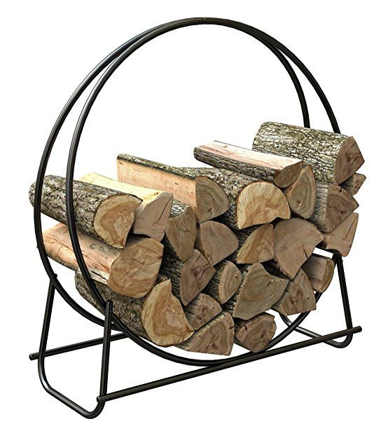You Can Lay Your Firewood Neatly By The Fire Pit Or Fire Place It Can Also Protect The Firewood The Product Has Stylis Firewood Rack Firewood Holder Firewood