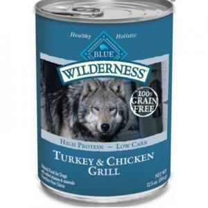 Grange Co-op: BLUE Adult Dog Wilderness® Turkey & Chicken Grill 12.5 oz Can