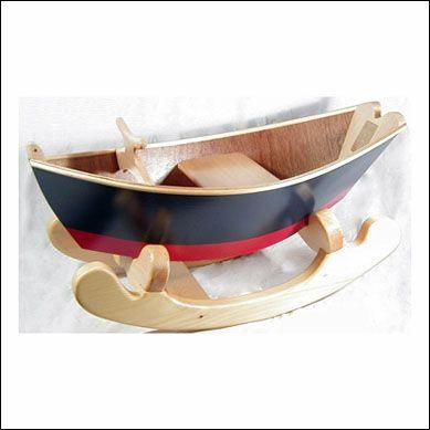 Wooden Rocking Boat Nautical Nursery Ideas Pinterest
