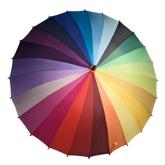 Fab.com | Colorwheel Umbrella