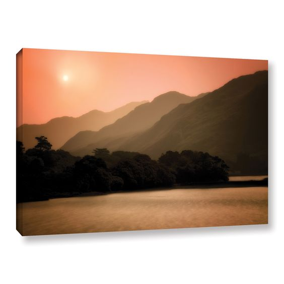 Peach Dream by Dennis Frates Photographic Print on Gallery Wrapped Canvas