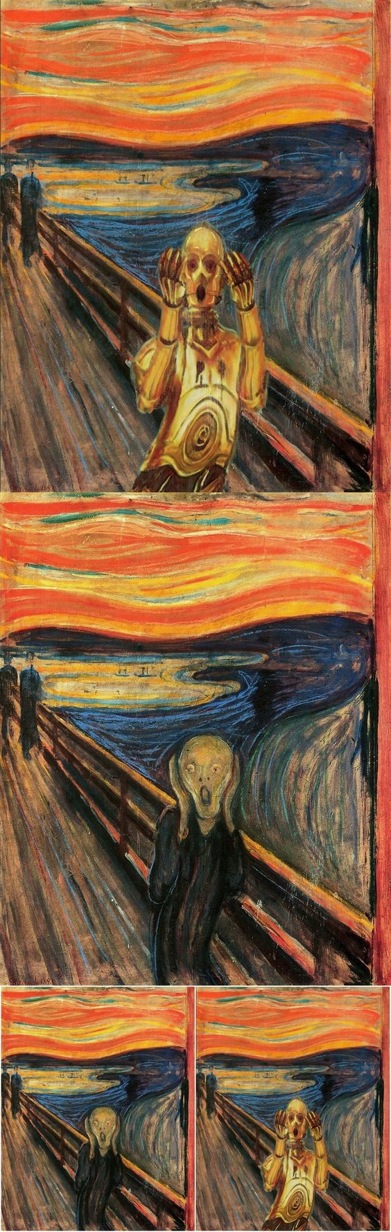 The Scream – Featuring C-3PO. Learn more at: http://bit.ly/1ySk4qk