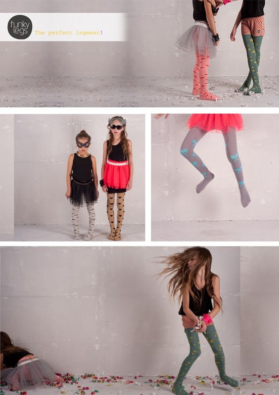 FUNKY LEGS- amazing tights, pants and skirts // petitapetitandfamily.com