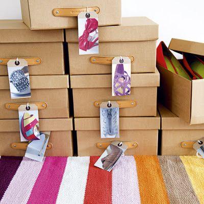caixas de sapato: