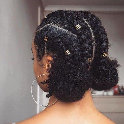 2019 Simple Braids for Natural Hair