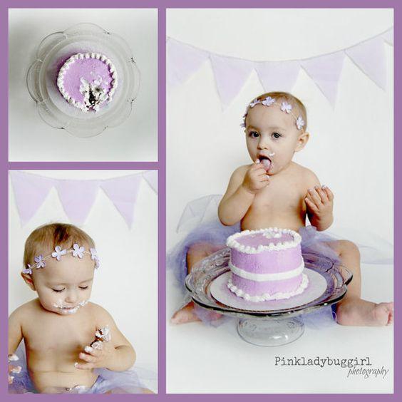1 pale purple flower crown  photo prop headband by pinkladybuggirl, $9.00