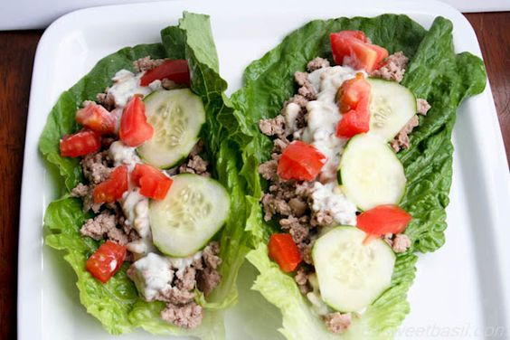 Monday, May 21, 2012  Greek Dill Lettuce Cups: Clean Eating Dinner, Greek Recipes, Healthy Eating, Clean Meals, Healthy Food, Cups Ohsweetbasil, Favorite Recipes