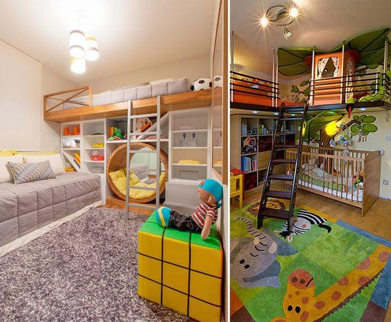 Diversão quarto de criança