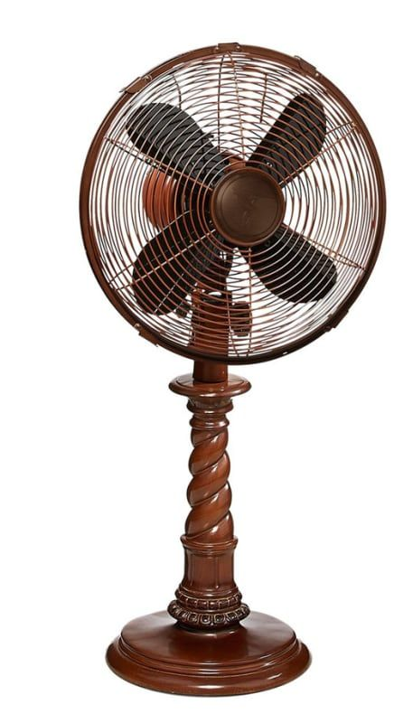 Decobreeze Dbf0761 25 Tall 3 Speed Portable Table Fan Raleigh Fans Air Circulator Table Fan Floor Standing Fan Table Fan Fan