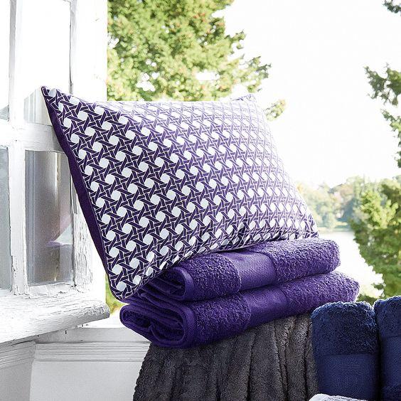 Coussin 100% satin de coton motifs cannage 40x60cm SATELLITE Descamps