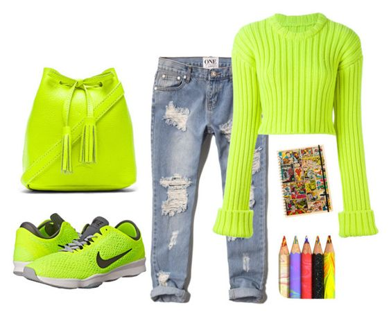 """""""Sin título #24"""" by kiki-a-diario on Polyvore featuring moda, Shaffer, Abercrombie & Fitch, MM6 Maison Margiela, NIKE y Marvel Comics"""