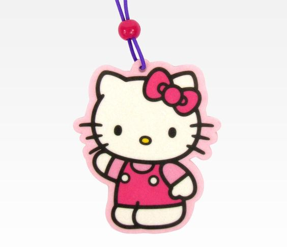 Hello Kitty Air Freshener for your car