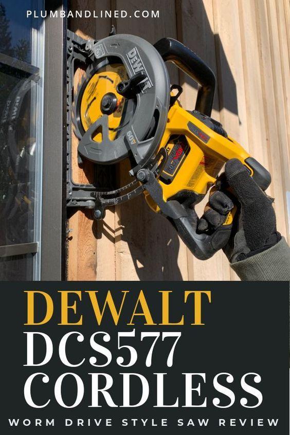 Dewalt Flexvolt 60v Max Cordless Worm Drive Style Saw Review Dcs577 Di 2020