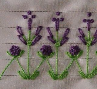 lots of embroidery ideas and instructions