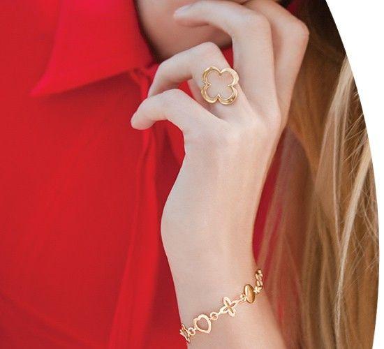Bransoletka Les Tresors De Lilou Srebrna Bransoletki Pozlacane Srebrne I Stalowe Bransoletki Bizuteria Sklep Internetowy Lilou Jewels Jewelry Rings