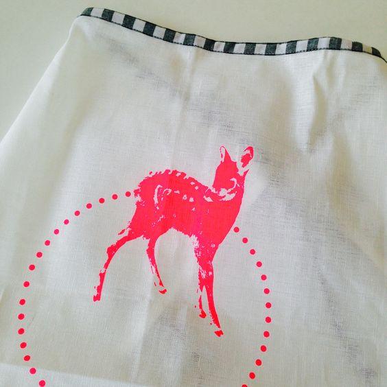 Bistro-Schürze Bambi pink