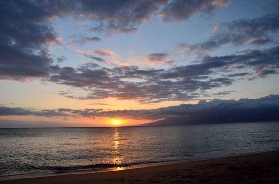 Maui Sunset..perfect - #Sunset #Vacation