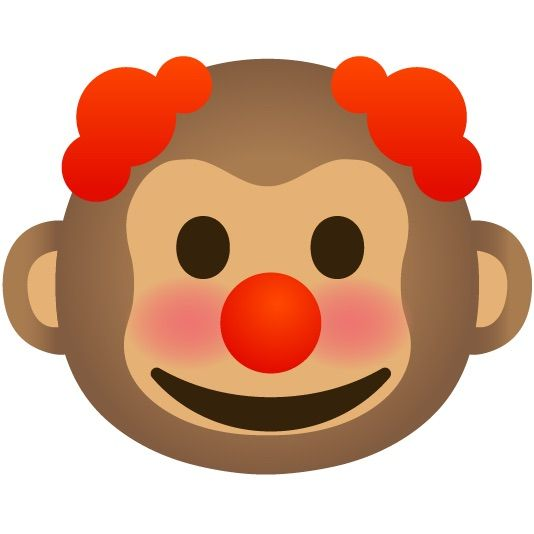 Clown Monkey Clown Hello Kitty Monkey