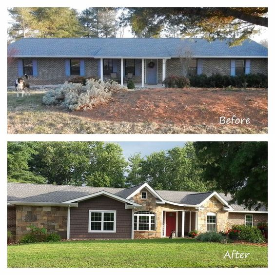 17 Best Images About Ranch House Remodels Home