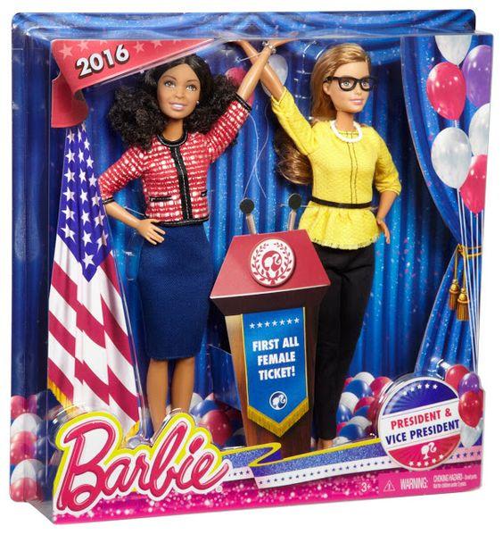תוצאת תמונה עבור barbie president 2016