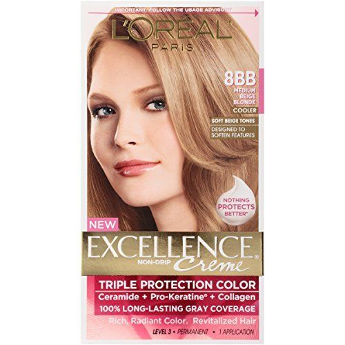 L Oreal Excellence Triple Protection Color Creme Haircolor 8bb
