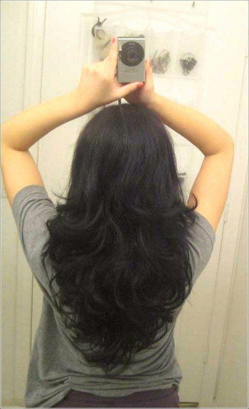 V Shape Hairstyle Haircuts For Long Hair Short Layers Long Hair Long Layered Hair