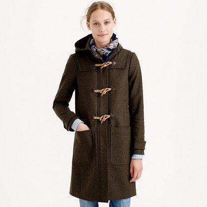Petite wool melton toggle coat : outerwear &amp blazers | J.Crew | My