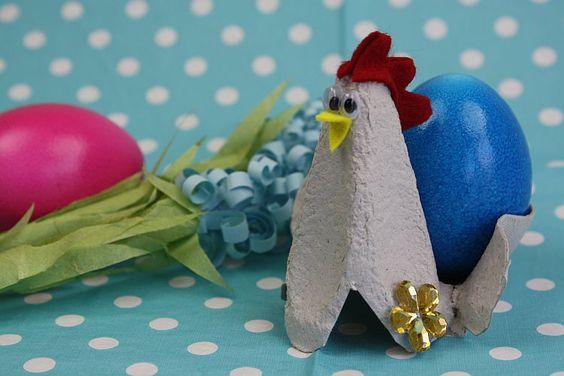 Vor allem für Kinder ein riesiger Bastelspaß: Erfahre in dieser Anleitung, wie Du einen dekorativen Eierbecher basteln kannst! Jetzt loslegen!