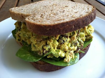 Curry chicken salad, something different to make for lunch