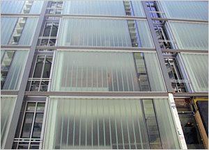 Bendheim Wall Systems Exterior Wall Glass materials