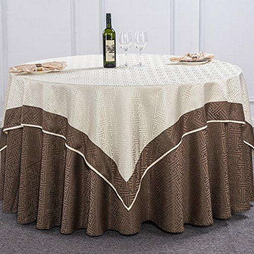 Table Cloth Tablecloth Restaurant Rectangle Round Double Back