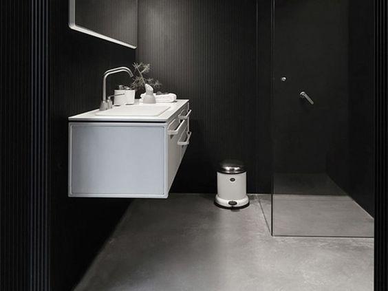 ゴミ箱 vipp サニタリー 洗面 トイレ デンマーク インテリア コーディネート例