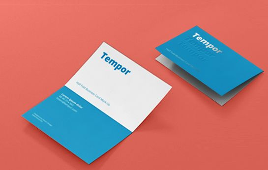 Attractive Folding Visiting Cards For Your Business Visiting Cards Folded Business Cards Printing Business Cards