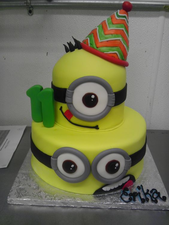 Easy Minion Cake Images : Pinterest   The world s catalog of ideas