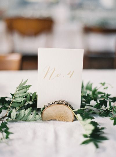 Rustic table numbers: http://www.stylemepretty.com/2015/02/05/romantic-cultural-infused-swedish-wedding/ | Photography: 2 Brides - http://2brides.se/