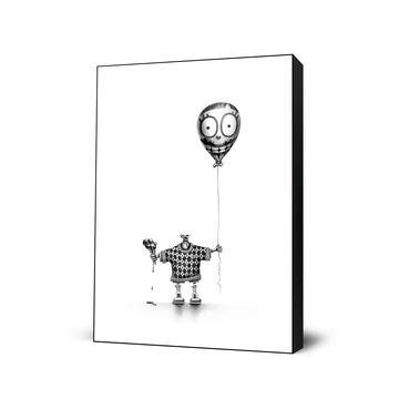 My design inspiration: Ice Cream Boy Large Art Block on Fab.