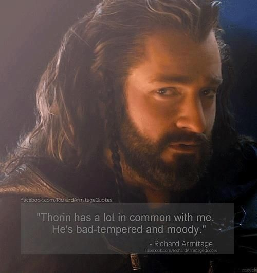 Richard Armitage Quotes - so i can live with that xx