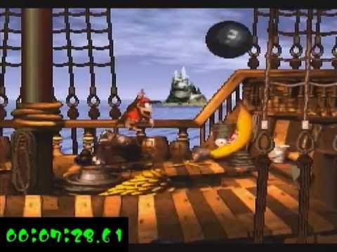 Title: Donkey Kong Country 7% Run in 8:38 (World Record)    Anyone remember this game for the SNES when it first came out? I was in middle school and when ever I get home, I usually play this game. This was a memorable moment in the 90's. what about you guys?...CLICK THE PICTURE FOR MORE INFO.