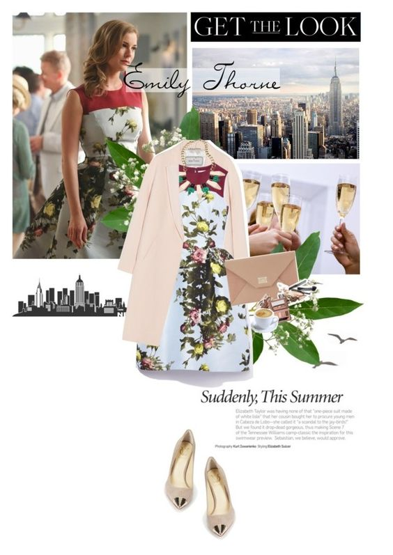 """ All I want is nothing more To hear you knocking at my door 'Cause if I could see your face once more I could die a happy man I'm sure"" by amna-asif2 ❤ liked on Polyvore featuring Damsel in a Dress, Vince Camuto, By Malene Birger, Carolina Herrera, Blu Bijoux, Jimmy Choo and Benefit"