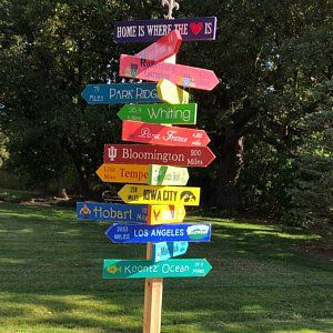 Pin On Directional Signs