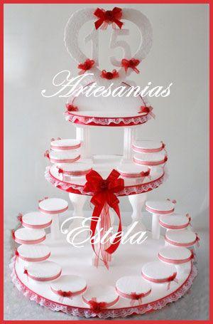 Maqueta para souvenirs de 15 a os borrar pinterest for Ornamentacion para fiesta de 15