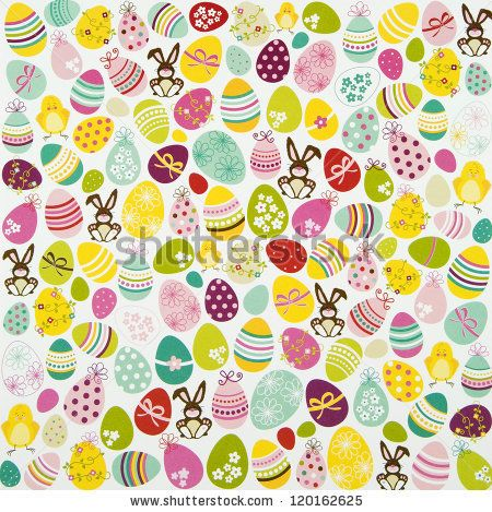 Easter Egg and Bunny Background #Easter Inspiration from Shutterstock http://www.webdesign.org/easter-inspiration-from-shutterstock.22414.html