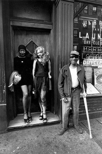 Jill Freedman. On Bleeker Street