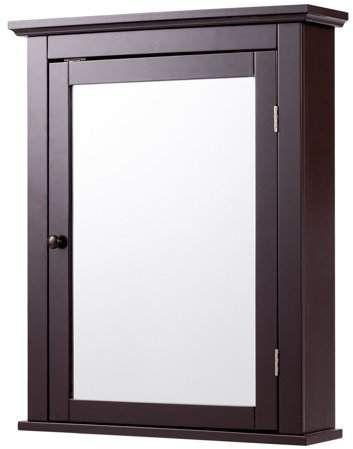 30+ Yaheetech bathroom medicine cabinet 2 door wall mounted model