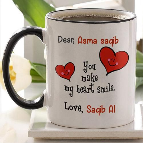 Write Name On Coffee Mug With Love Couple Quotes Couples Quotes Love Couple Quotes Mugs