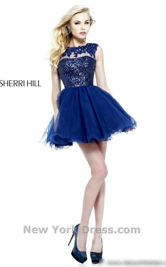 party dress blue