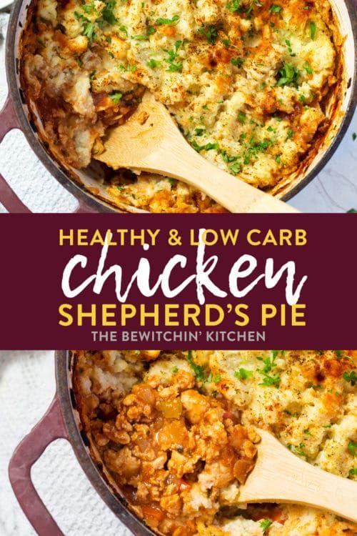 Whole30 Chicken Shepherd S Pie Recipe Healthy Comfort Food Ground Chicken Recipes Healthy Recipes