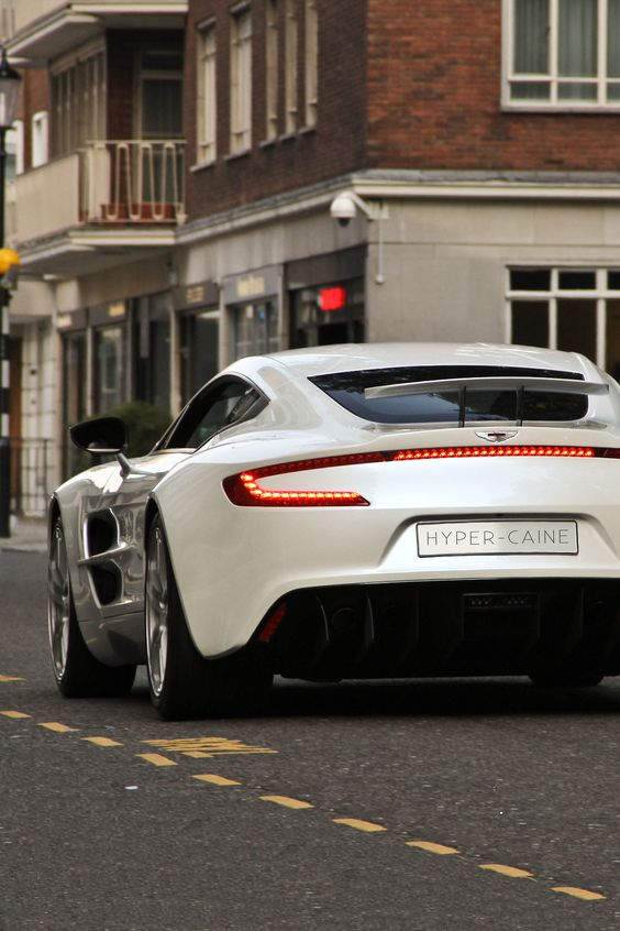 Aston Martin One-77….the ultimate SuperCar!  There is none better. Period!