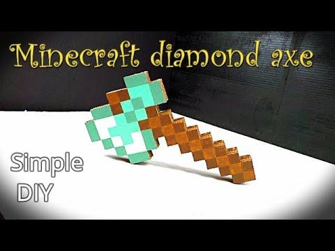 How To Make A Axe In Minecraft